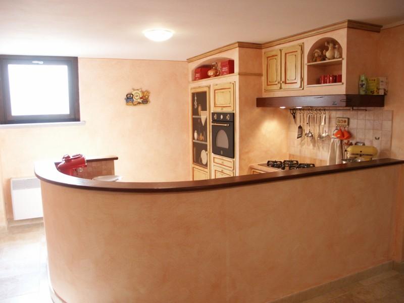 Cucina finta muratura - Bagno finta muratura ...
