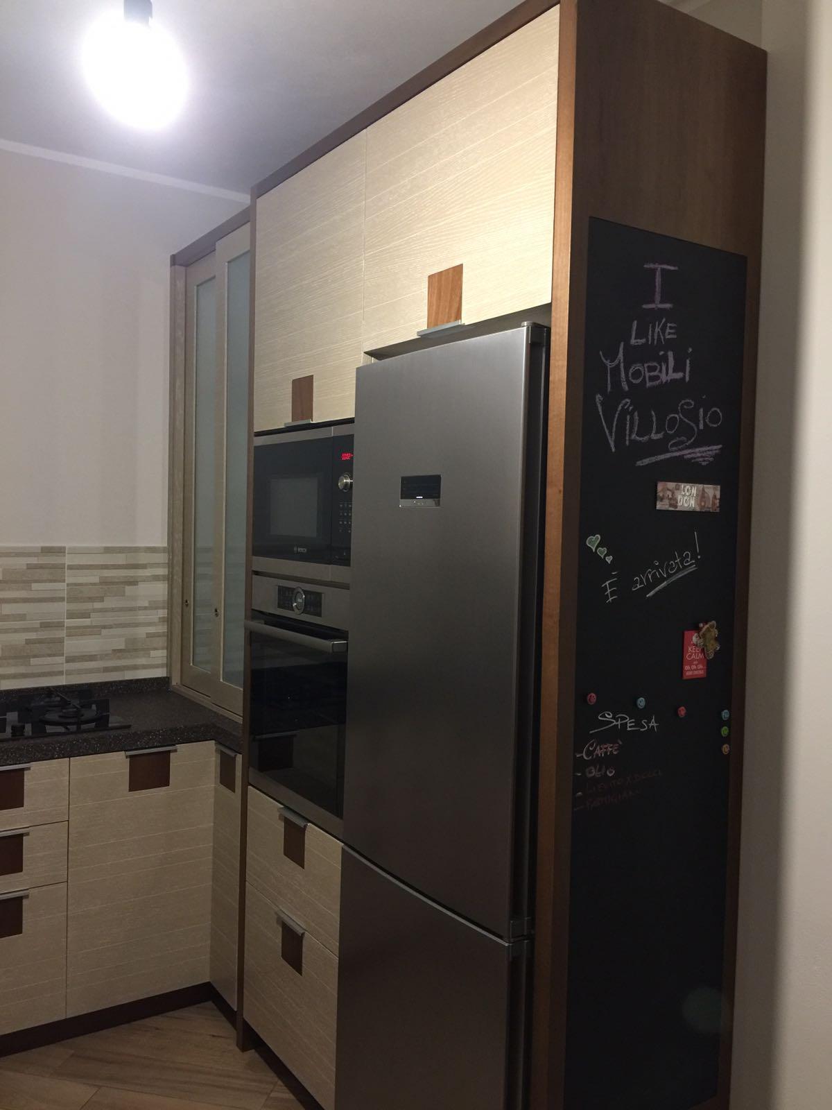 Cucina moderna rovere for Cucina moderna online